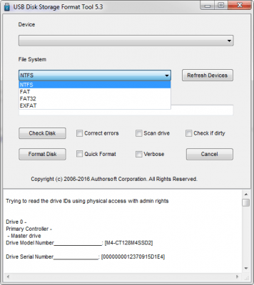 USB Disk Storage Format Tool 6.0