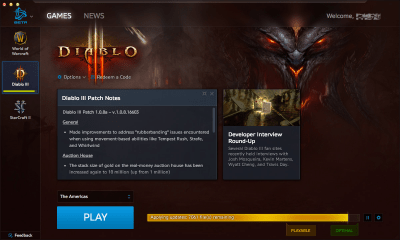 Blizzard (Battle.net) 1.8.0.8554