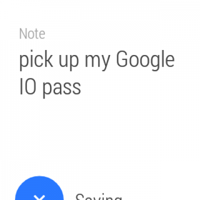 Evernote for Android Wear 0.9