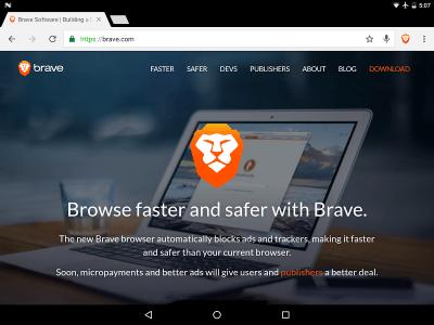 Браузер Brave 1.0.59