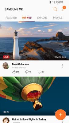 Samsung VR 2.1.19