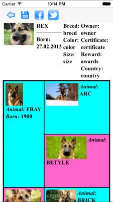 Родословная животного (iOS) 2.3