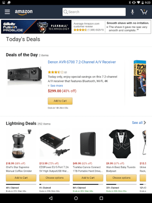 Amazon for Tablets 16.14.0.850