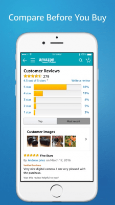Amazon App: shop, scan, compare, and read reviews 11.15.0
