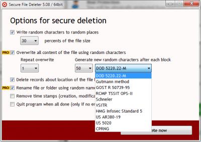 Secure File Deleter 6.0