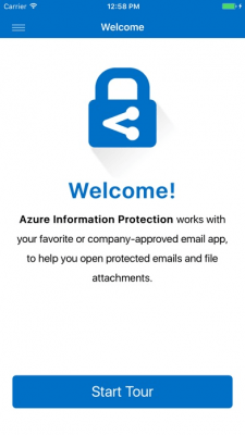 Azure Information Protection 2.0.10