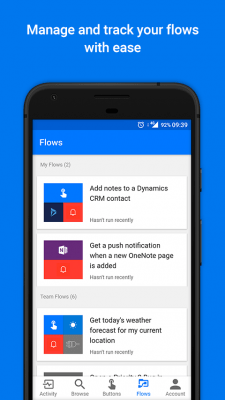 Microsoft Flow—Business workflow automation 2.27.0