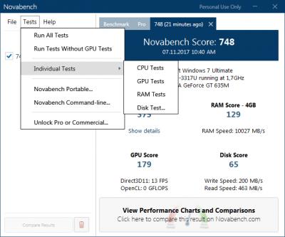 NovaBench 4.0.6