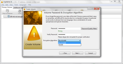 Cryptainer LE 12.0.0.1