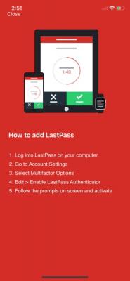 LastPass Authenticator 1.5.3