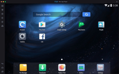 Nox App Player 1.2.1.0