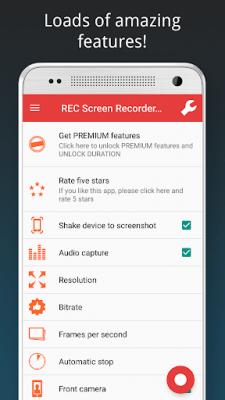 REC HD Screen Recorder 3.0