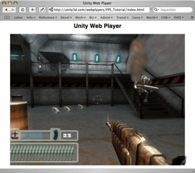 Unity Webplayer 5.3.8f1