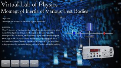 Момент инерции различных тел 1.0