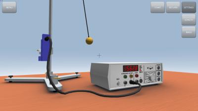 Гармоническое колебание маятника 1.0