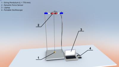 Эллиптическое колебание маятника 1.0