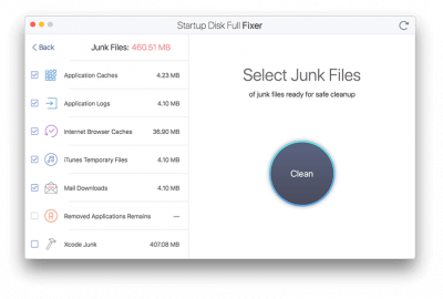Startup Disk Full Fixer 1.0
