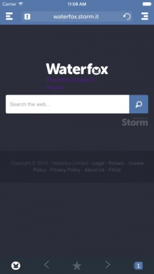 Waterfox Browser 1.1.2