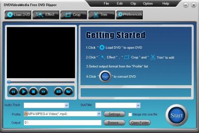 DVD Video Media Free DVD Ripper 2.6