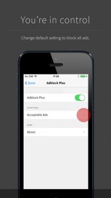 Adblock Plus 1.1.0