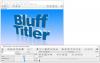 Скачать BluffTitler