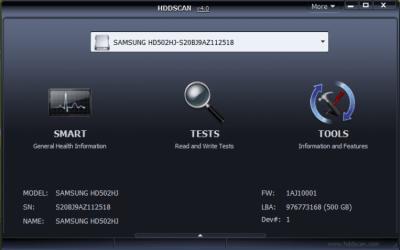 HDDScan 4.0