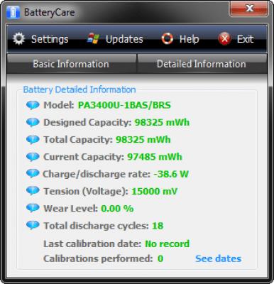 BatteryCare 0.9.32.0