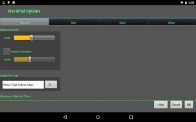 WavePad Audio Editor Free 6.52
