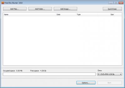 Free Disc Burner 3.0.66.823