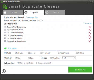 Smart Duplicate Cleaner 2.1