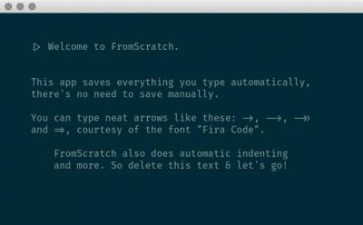 FromScratch 1.4.0