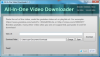 Скачать All-In-One Video Downloader
