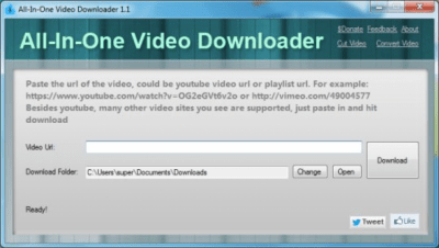 All-In-One Video Downloader 1.1