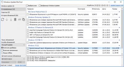 Windows Update MiniTool 20.12.2016