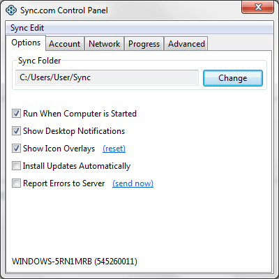 Sync for Windows 1.3.0