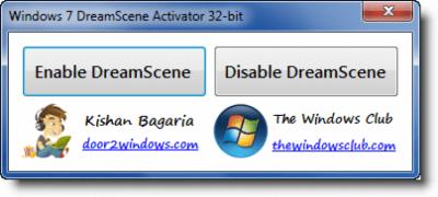 Windows 7 DreamScene Activator 1.1