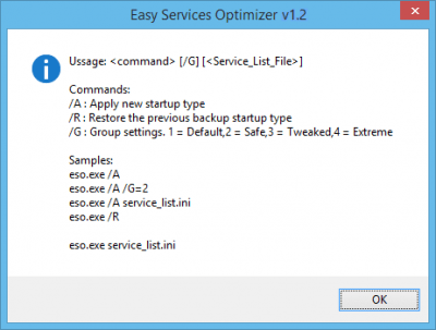 Easy Service Optimizer 1.2