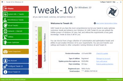 Tweak-10 1.0.1050