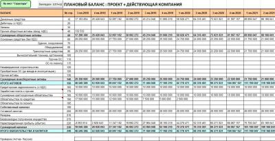 BProfi Finance Model (BPFM)  финансовая модель в Excel 1.3