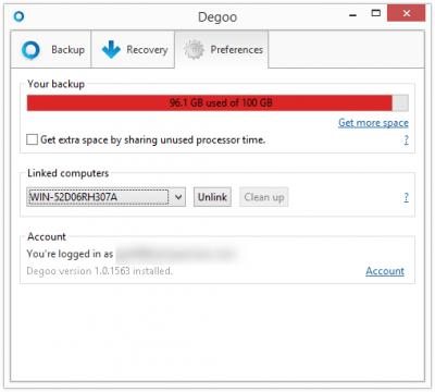 Degoo 1.0.2611