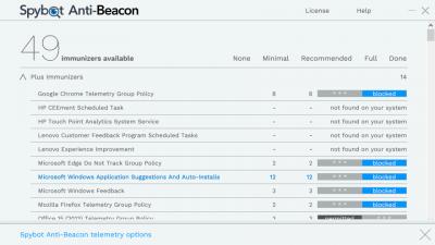 Spybot Anti-Beacon 3.0.5