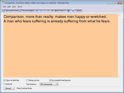 Sticky Notes 5.50 Build 542