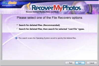 Recover My Photos 6.2.0.1830