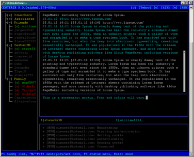 CenterIM 5.0.0 beta 2