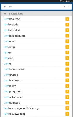 German English Dictionary