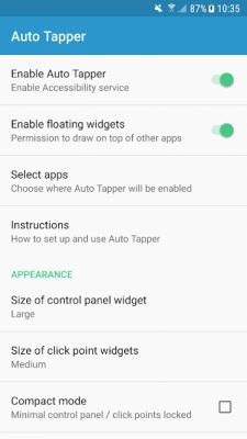 Auto Tapper - Auto Clicker/Tap Sequence Recorder