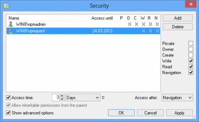 Network Password Manager 3.1