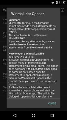 Winmail.dat Opener 1.10