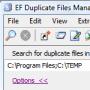 Скачать EF Duplicate Files Manager