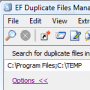 Скачать EF Duplicate Files Manager Portable